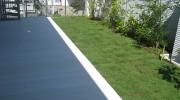 空中庭園を実現する屋上ウッドデッキ