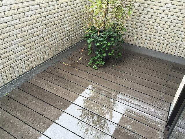 夏の水遊びにも最適な彩木ウッドデッキ(後編)