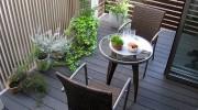 庭以外にも設置できるウッドデッキ