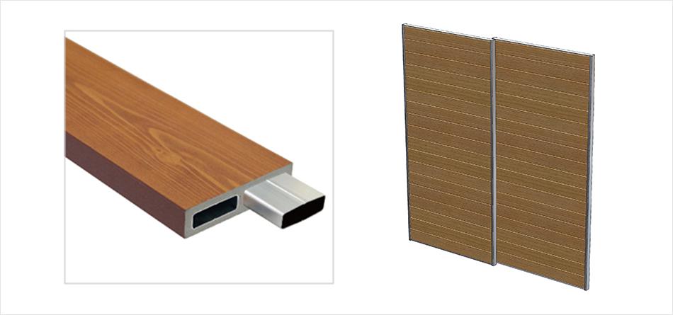 彩木の使用例扉