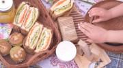 ウッドデッキでお家ピクニックを楽しむ(前編)