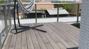 彩木を用いた屋上の庭園04