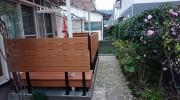 フェンスのある彩木ガーデンデッキ(実例03)